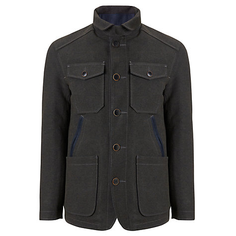 Buy Replay Wool Jacket, Navy Online at johnlewis.com