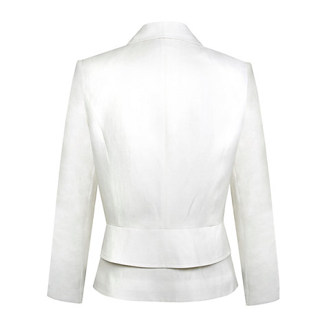 Buy Kaliko Linen Jacket, Natural Online at johnlewis.com