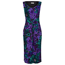 Buy Precis Petite Muldives Floral Dress, Purple Online at johnlewis.com