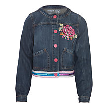 Buy Desigual Alaska Denim Jacket, Blue Online at johnlewis.com