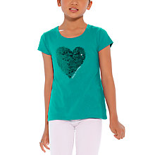 Buy Desigual Leonet T-Shirt, Green Online at johnlewis.com