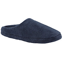 Buy John Lewis Sleepy Slippers, Navy Online at johnlewis.com