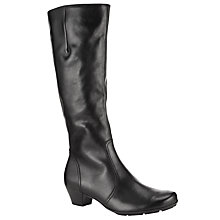 Buy Gabor Trumbo Knee Boot, Black Online at johnlewis.com