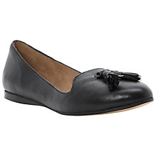 Buy Dune Longacres Leather Slip-On Shoes Online at johnlewis.com