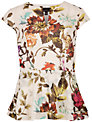 Ted Baker Summer Floral Top, Natural