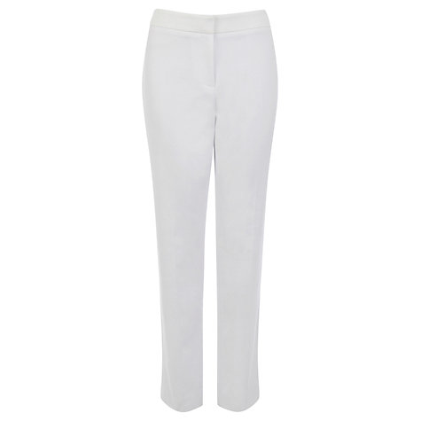 Buy Coast Dulce Trousers, White Online at johnlewis.com