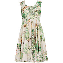 Buy Ted Baker Liano Dancing Leaves Dress, Jasmine Online at johnlewis.com