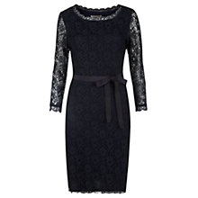 Buy Jigsaw Lace Fitted Dress Online at johnlewis.com