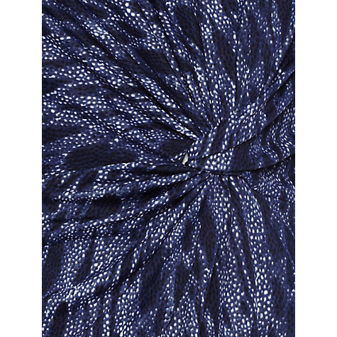 Buy allegra by Allegra Hicks Mia Top, Snake Indigo Online at johnlewis.com