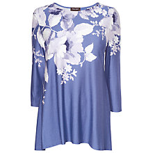 Buy Phase Eight Fenella Printed Blouse, Marine/White Online at johnlewis.com