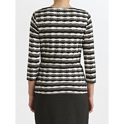 Buy COLLECTION by John Lewis Alexia Tie Side Top, Black/Cream Online at johnlewis.com
