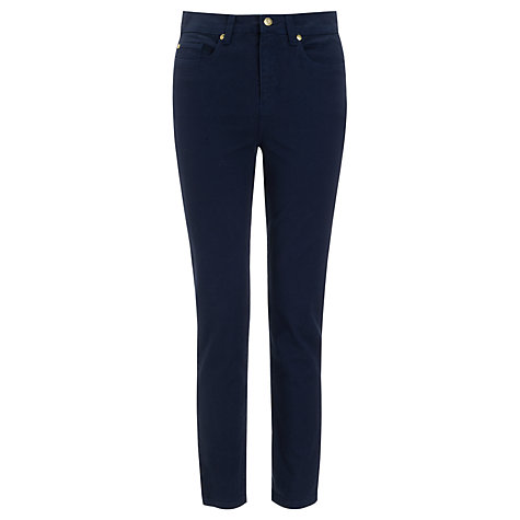 Buy Somerset by Alice Temperley Skinny Jeans, Navy Online at johnlewis.com