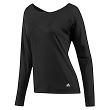 Buy Adidas Studio Pure Long Sleeve Cover Up Online at johnlewis.com