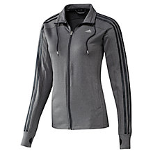 Buy Adidas CLIMACOOL Training 3 Stripes Core Track Top Online at johnlewis.com