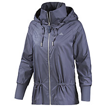 Buy Adidas Woven Parka, Grey Online at johnlewis.com