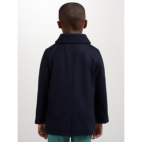 Buy Kin by John Lewis Shawl Neck Coat, Blue Online at johnlewis.com