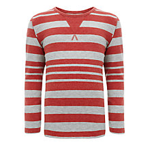 Buy Kin by John Lewis Boys' Striped Long Sleeve Top Online at johnlewis.com