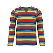 Buy John Lewis Boy Striped Long Sleeve Top, Multi Online at johnlewis.com