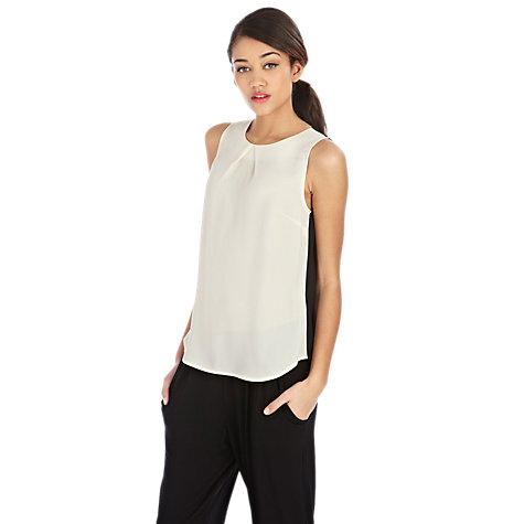 Buy Oasis Colour Block Shell Top Online at johnlewis.com