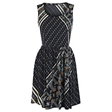 Buy Warehouse Scarf Print Dress, Multi Online at johnlewis.com