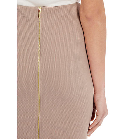 Buy Warehouse Zip Back Pencil Skirt Online at johnlewis.com