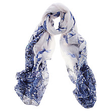 Buy Oasis Botanical Floral Scarf, Navy Online at johnlewis.com