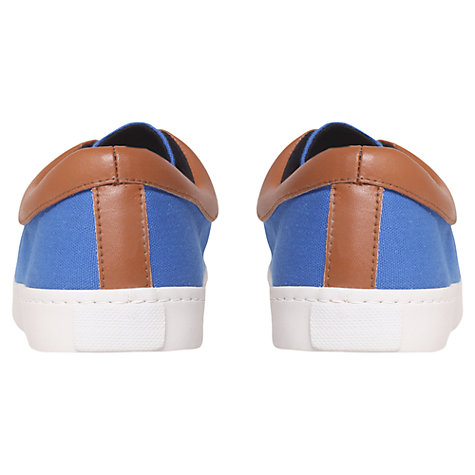 Buy KG by Kurt Geiger Witham Canvas Trainers Online at johnlewis.com