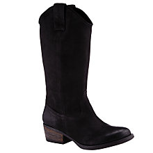 Buy Collection WEEKEND by John Lewis Sabado Cowboy Boots, Black Online at johnlewis.com