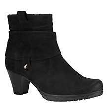 Buy Gabor Brignall Nubuck Ankle Boots Online at johnlewis.com