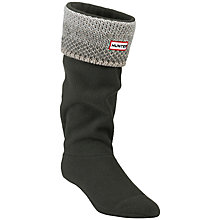 Buy Hunter Cuffed Welly Socks Online at johnlewis.com