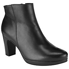 Buy Gabor Connecticut Ankle Boots, Black Online at johnlewis.com