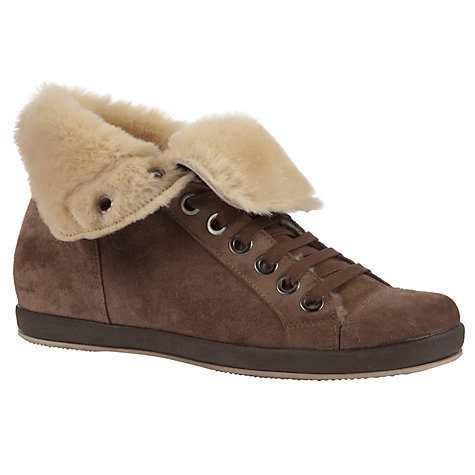 Buy Collection WEEKEND by John Lewis Hendrix Fur-Lined High-Top Trainers Online at johnlewis.com