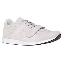 Buy Carvela Little Suede Pin Stud Trainers Online at johnlewis.com