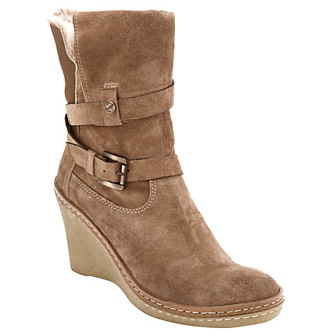 Buy Collection WEEKEND by John Lewis Sagrada Ankle Boots, Tan Online at johnlewis.com