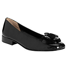 Buy John Lewis Masotti Flower Detail Loafers, Black Online at johnlewis.com