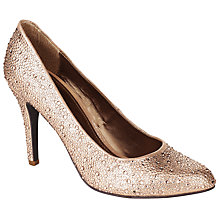 Buy John Lewis Occasion Mandarin Diamanté Court Shoes Online at johnlewis.com