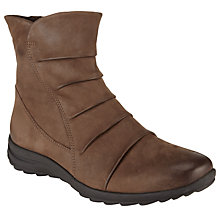 Buy Gabor Irma Nubuck Ankle Boots, Nougat Online at johnlewis.com