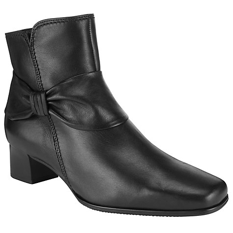 Buy Gabor Dreamer Ankle Boot, Black Online at johnlewis.com