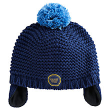 Buy Baby Joule Haiden Knit Hat, Blue Online at johnlewis.com