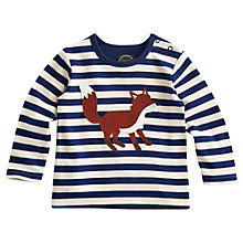 Buy Baby Joule Renard Fox Long Sleeved Top, Multi Online at johnlewis.com