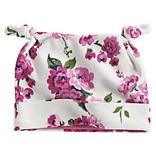 Buy Baby Joule Floral Print Hat, Multi Online at johnlewis.com