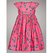 Buy John Lewis Butterfly Dress, Pink Online at johnlewis.com