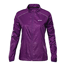Buy Asics Wind Jacket, Purple Online at johnlewis.com