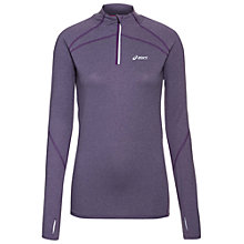 Buy Asics Winter Jersey Long Sleeve Top, Purple Online at johnlewis.com