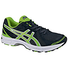 Buy Asics Men's GEL-Expedite 5 Running Shoes, Dark Grey/Green Online at johnlewis.com