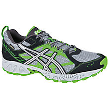 Buy Asics Men's GEL-Trail Lahar 5 GTX Trail Running Shoes, Green/Silver/Black Online at johnlewis.com