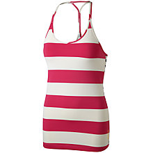 Buy Reebok Studio Block Stripe Long Bra Top Online at johnlewis.com