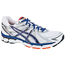 Buy Asics Men's GT-2000 Running Shoes, White/Navy/Orange Online at johnlewis.com