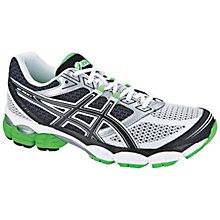Buy Asics Men's GEL-Pulse 5 Running Shoes, White/Black/Green Online at johnlewis.com