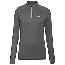 Buy Asics Winter Jersey Long Sleeve Top, Heather Online at johnlewis.com